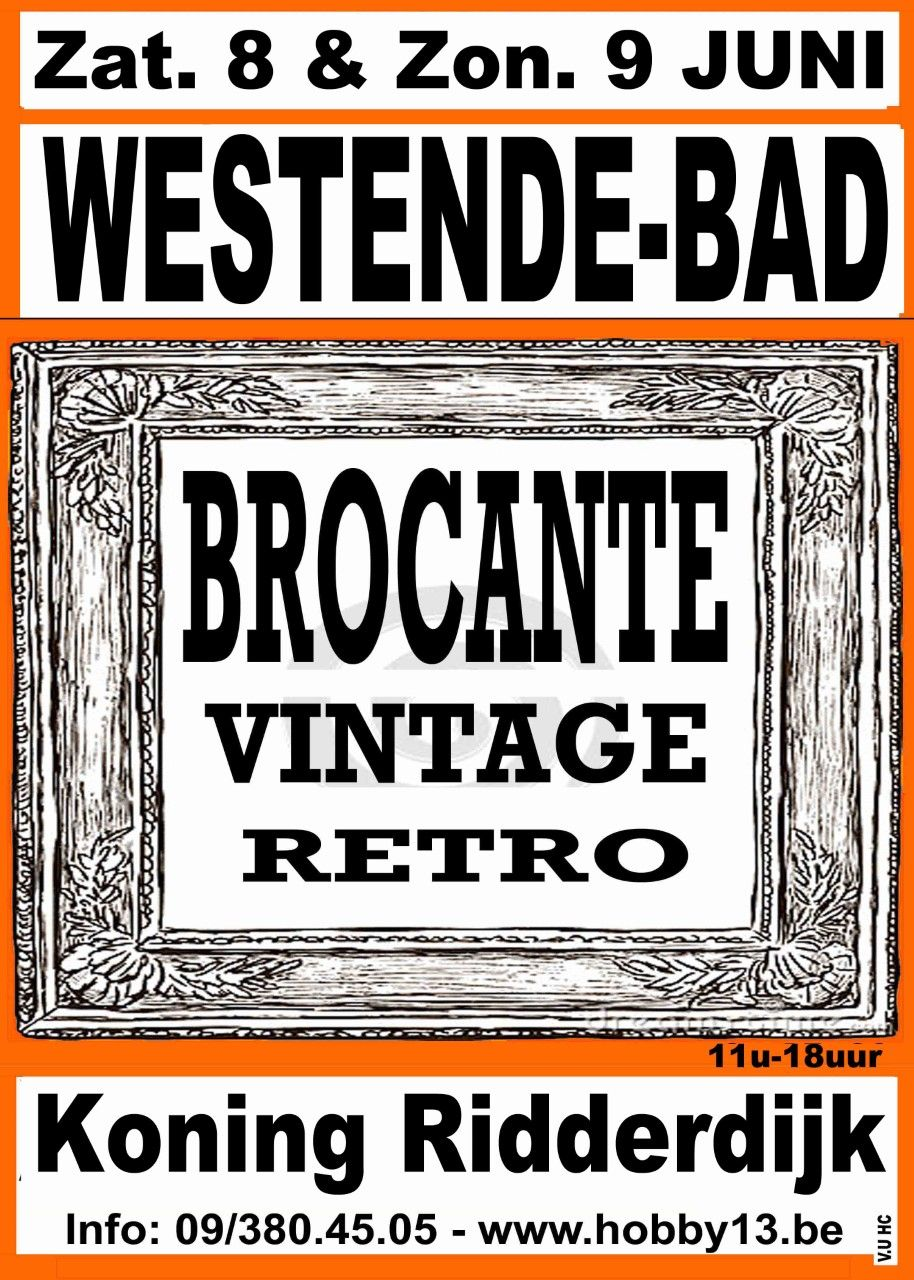 Retro -Brocante - Vintage te Westende-Bad