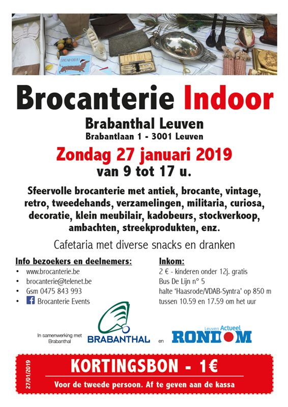 Brocanterie Indoor Leuven