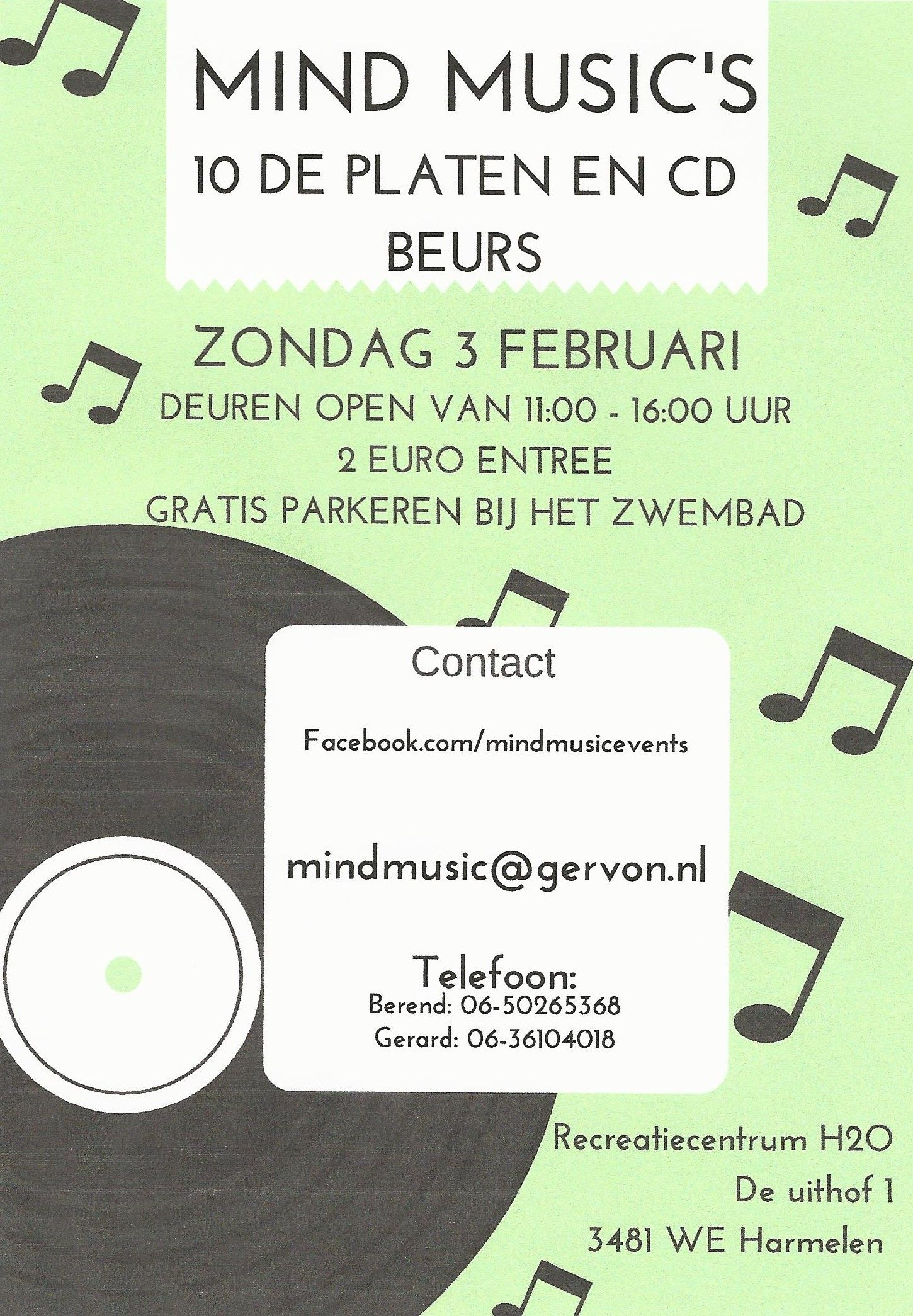 10de Platen- en CD Beurs Mind Music