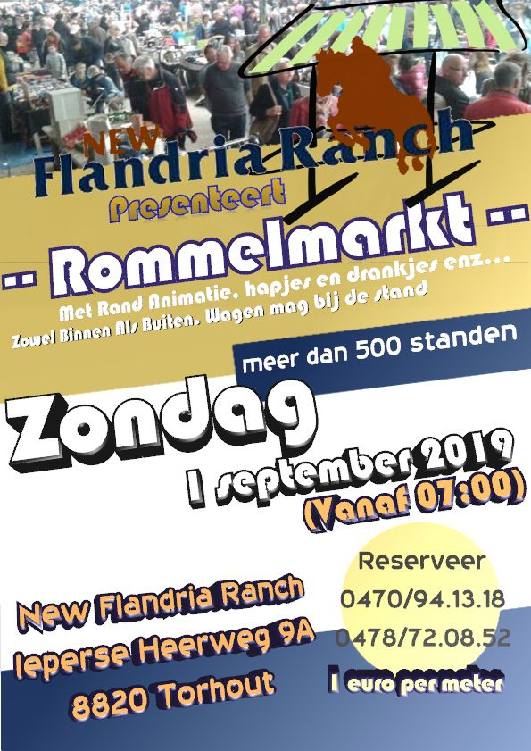 1ste editie new flandria ranch torhout