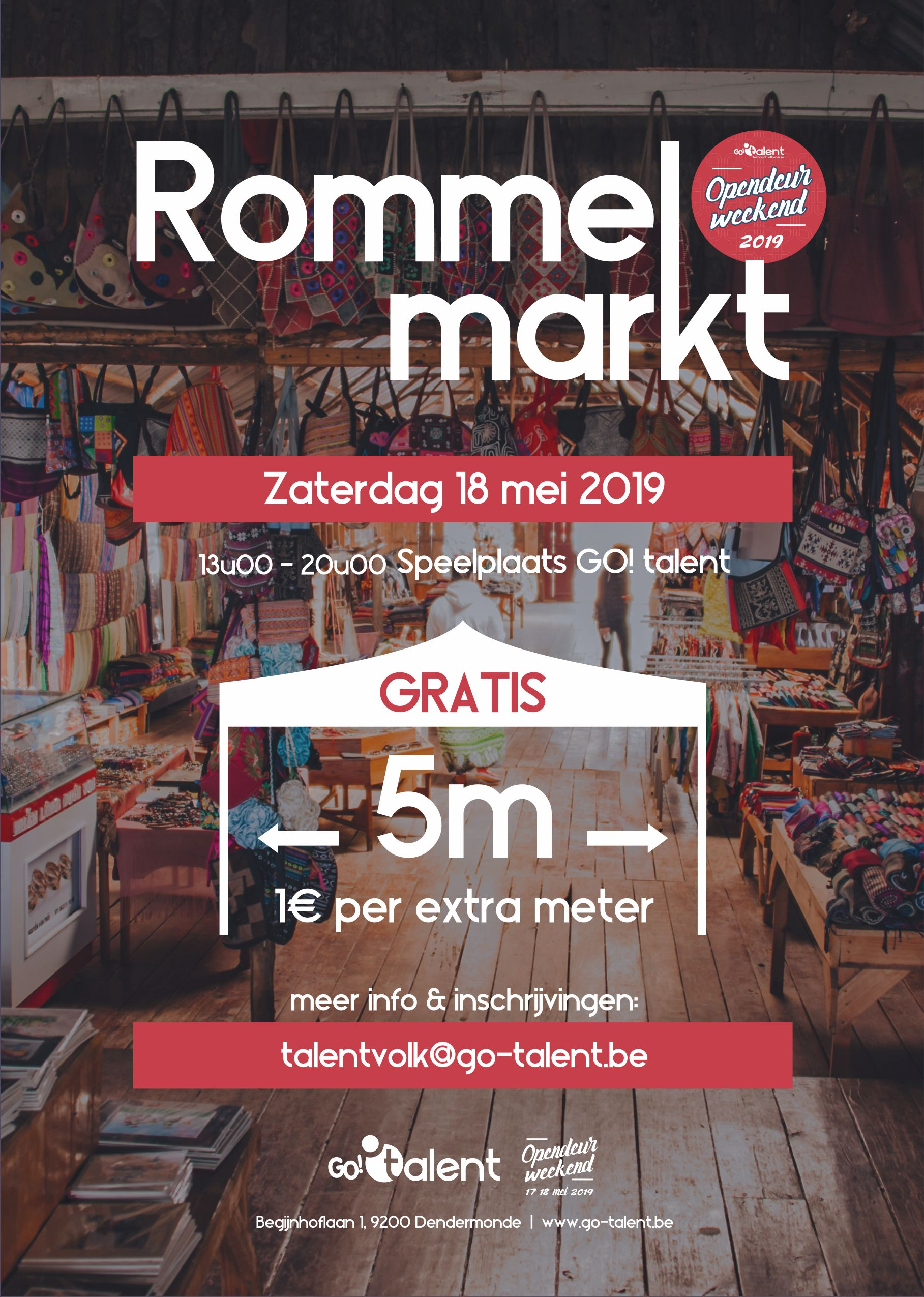 Rommelmarkt GO! talent